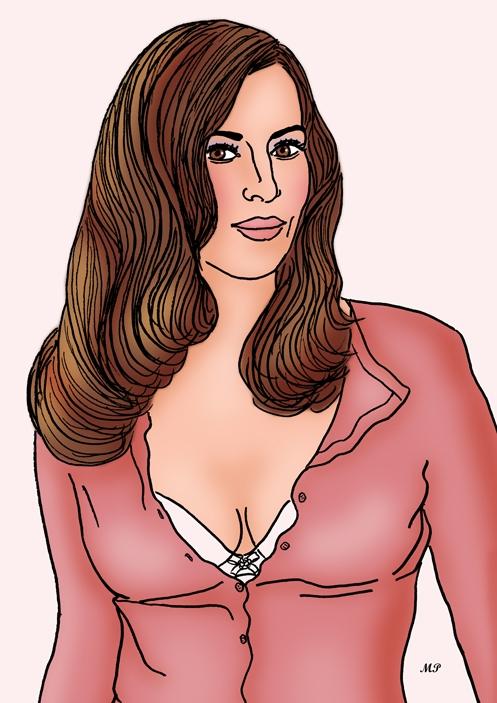 Monica Bellucci por MP69